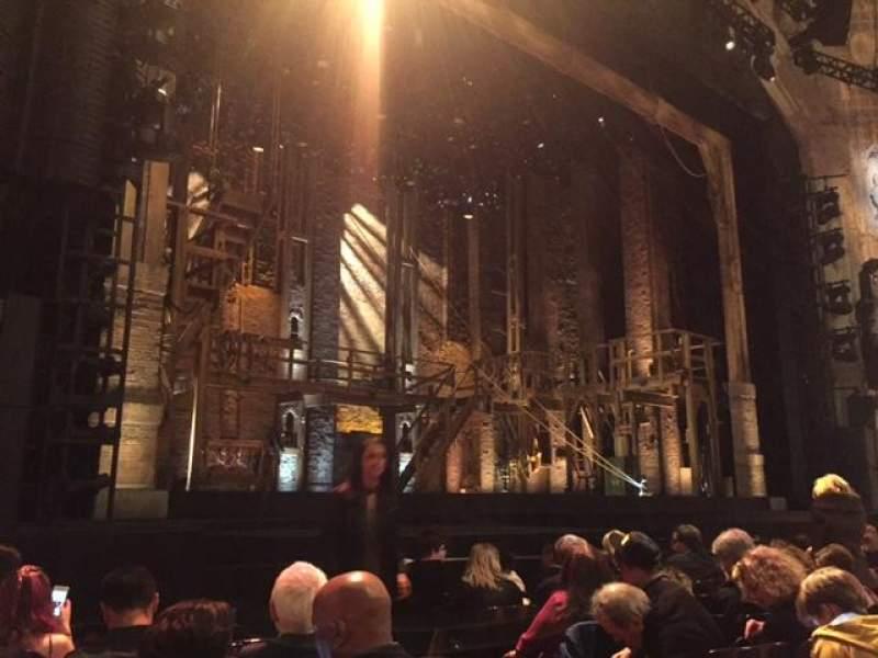 Vista sentada para Orpheum Theatre (San Francisco) Secção Orchestra L Fila H Lugar 5
