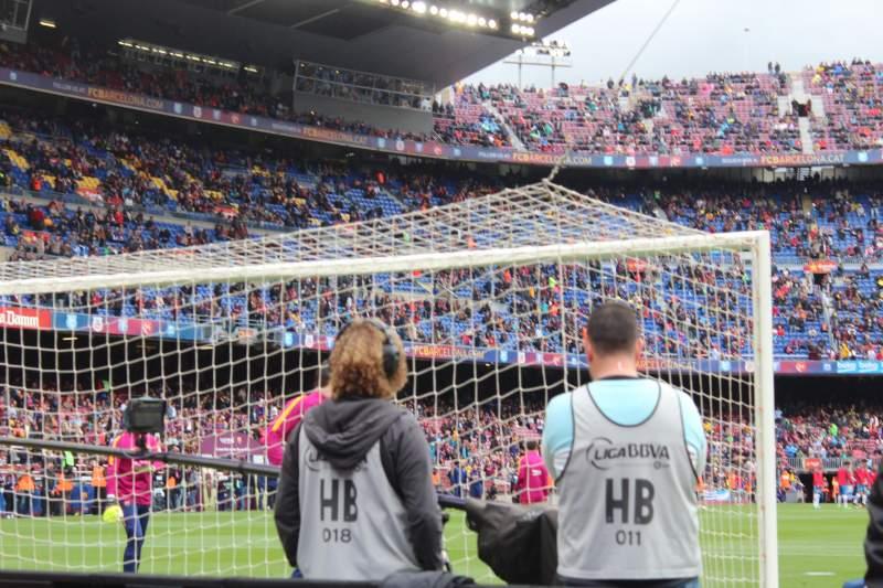 Vista sentada para Camp Nou Secção 123 Fila 2 Lugar 12