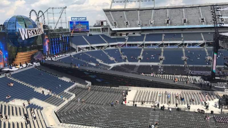 Vista sentada para Camping World Stadium Secção 237 Fila K Lugar 13