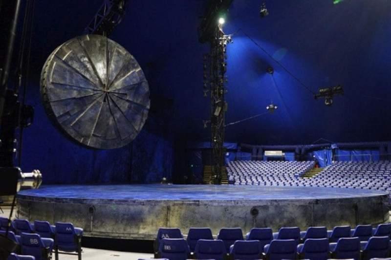 Vista sentada para Cirque Du Soleil - Luzia Secção 101 Fila E Lugar 22