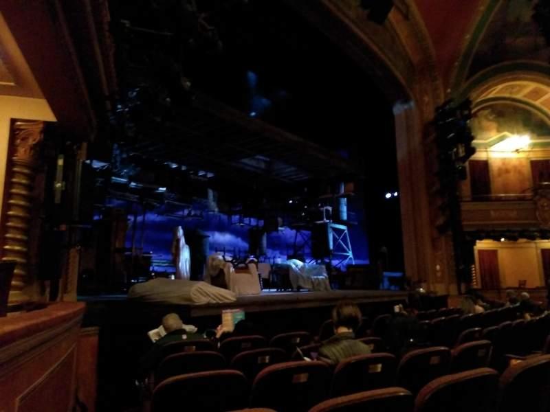 Vista sentada para American Airlines Theatre Secção Orchestra L Fila F Lugar 15