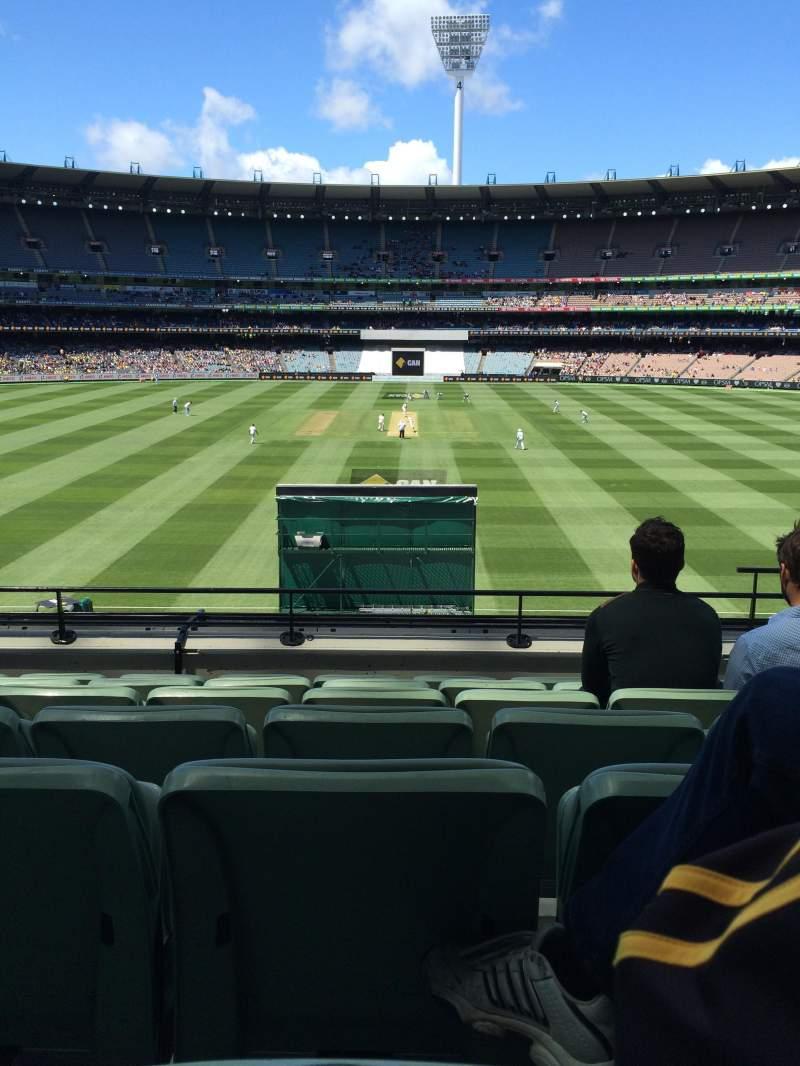 Vista sentada para Melbourne Cricket Ground Secção N47
