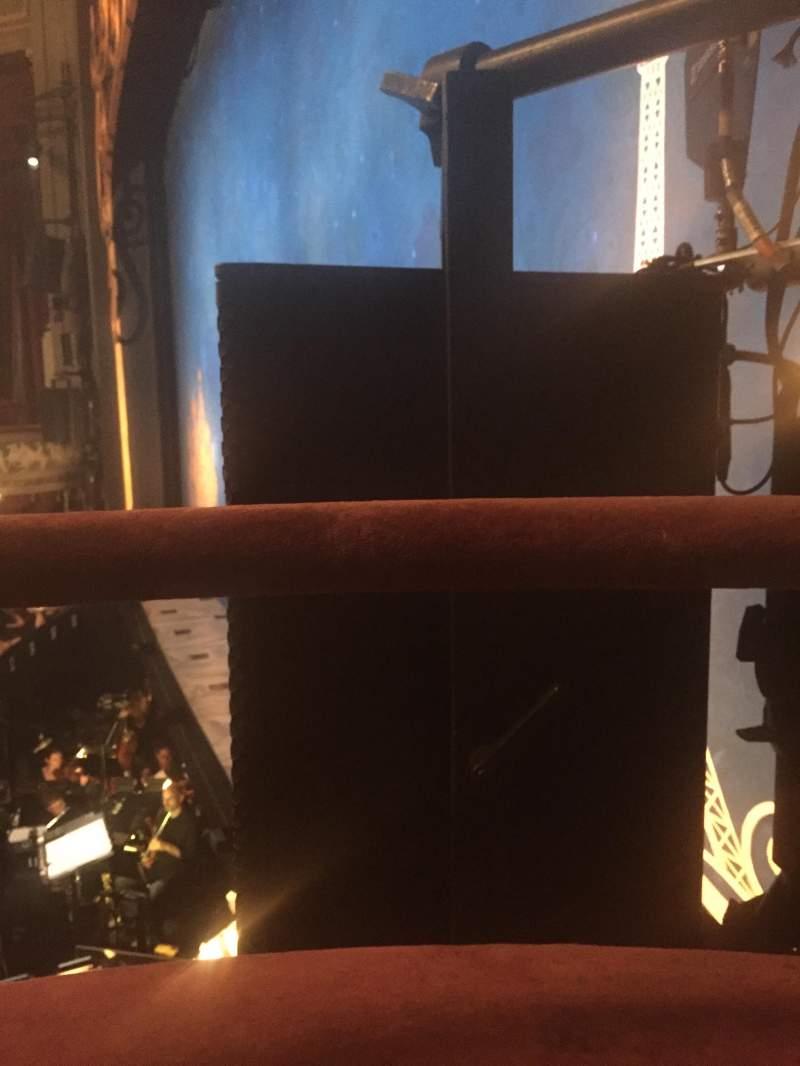Vista sentada para Broadhurst Theatre Secção Right Boxes Fila D Lugar 1-2