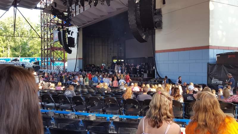 Vista sentada para Riverbend Music Center Secção 600 Fila S Lugar 647