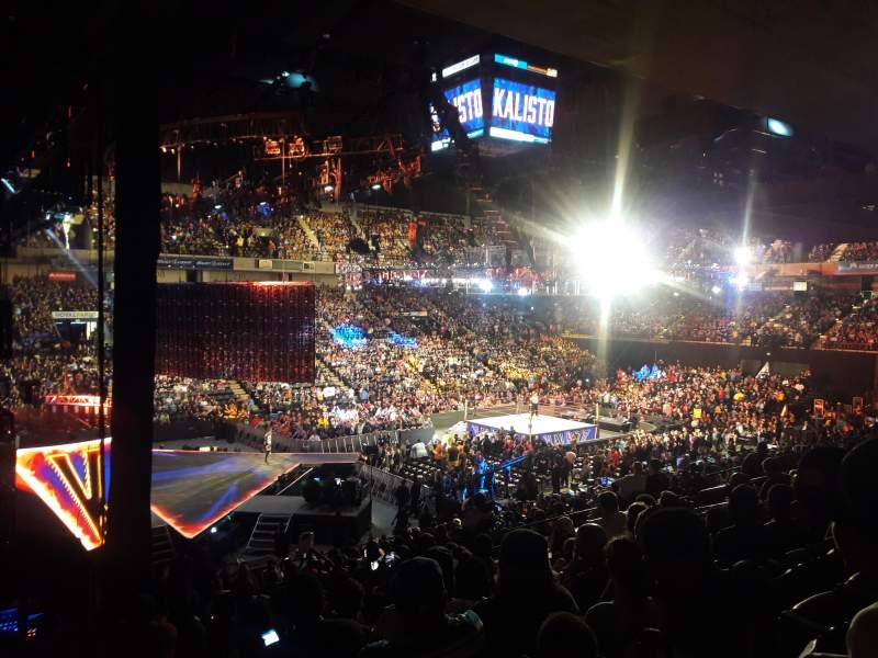 Vista sentada para Royal Farms Arena Secção 201 Fila J Lugar 1