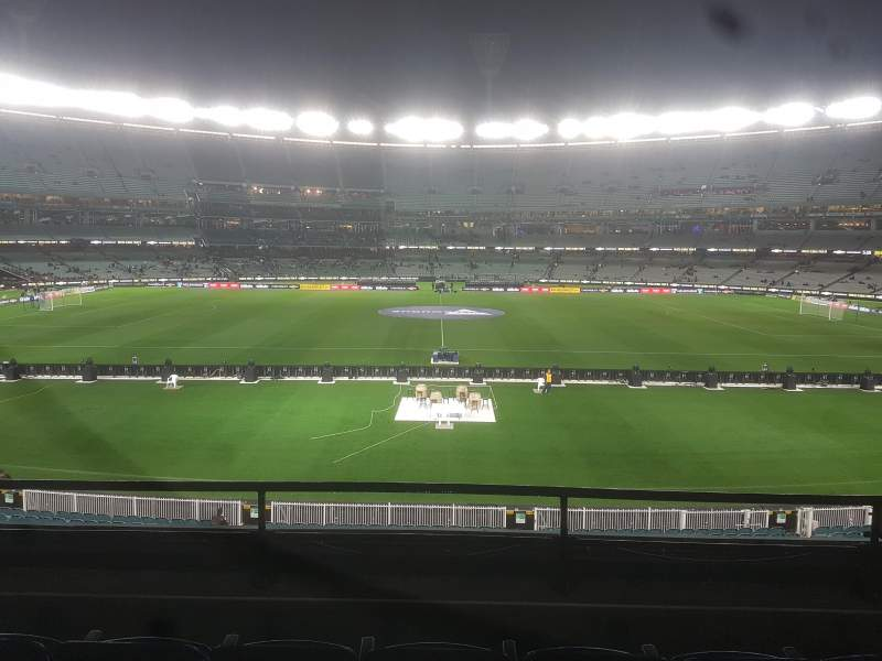 Vista sentada para Melbourne Cricket Ground Secção N19