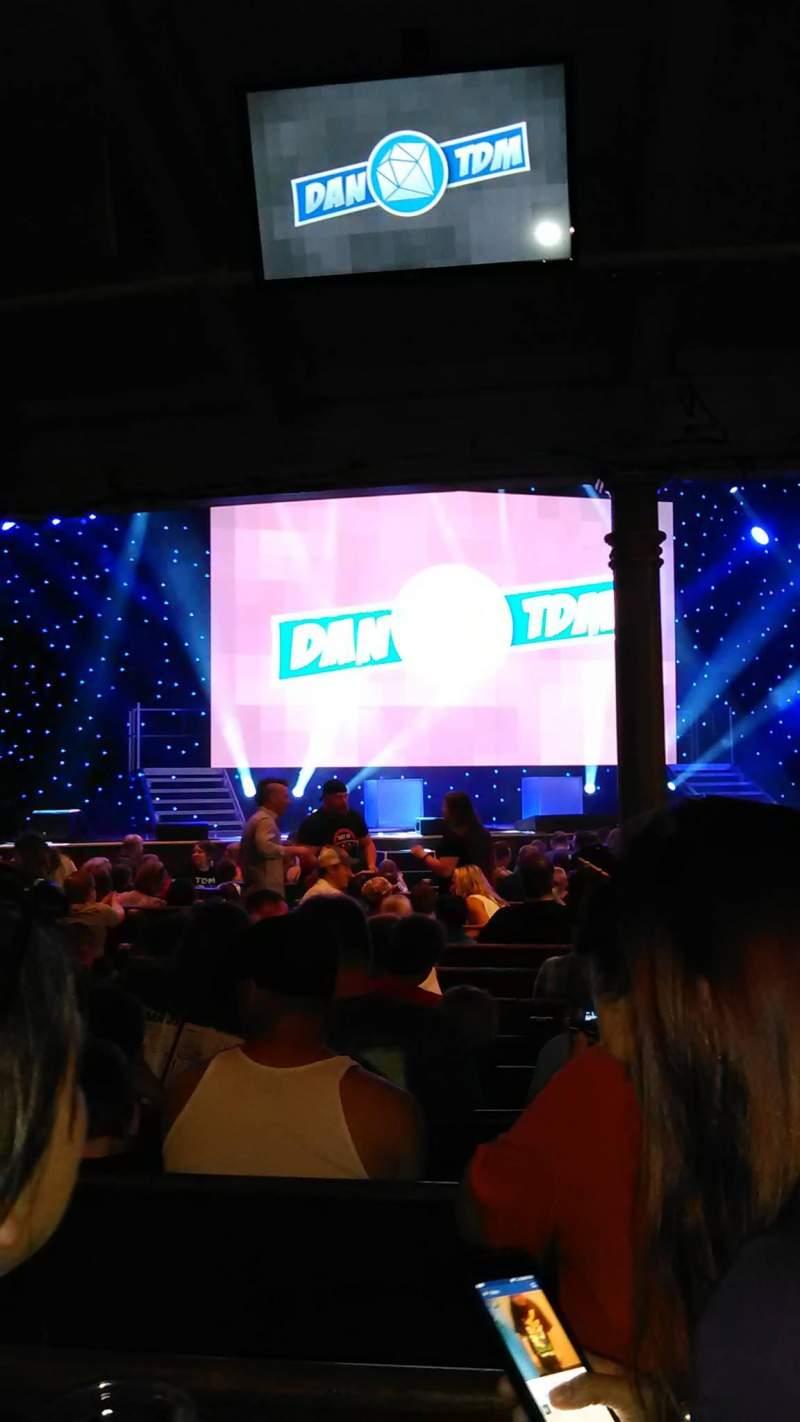 Vista sentada para Ryman Auditorium Secção MF-6 Fila S Lugar 1