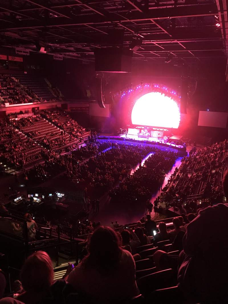 Vista sentada para Mohegan Sun Arena Secção 110 Fila K Lugar 19