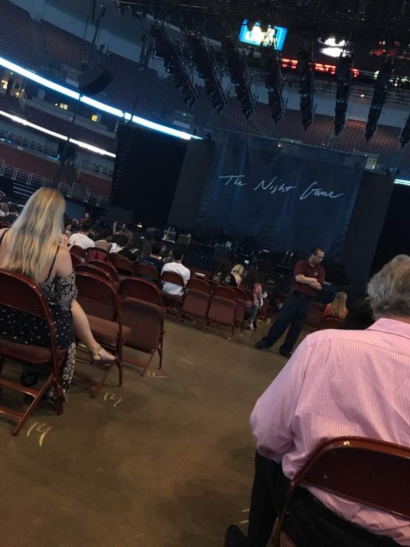 Vista sentada para Honda Center Secção 101 Fila 17 Lugar 14