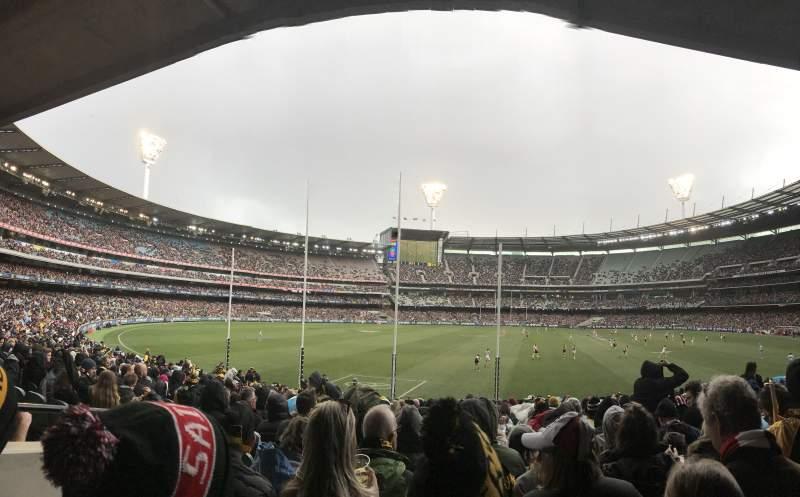 Vista sentada para Melbourne Cricket Ground Secção M2 Fila CC Lugar 14