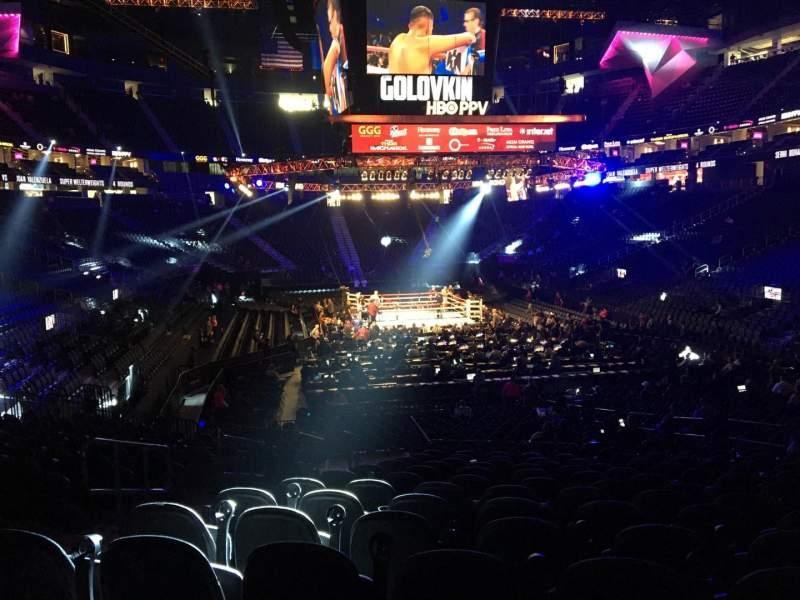 Vista sentada para T-Mobile Arena Secção 20 Fila N Lugar 5