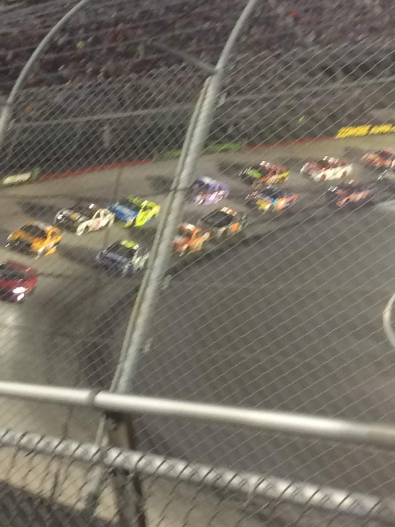 Vista sentada para Bristol Motor Speedway Secção Daryl waltrip Fila 2 Lugar 9-10