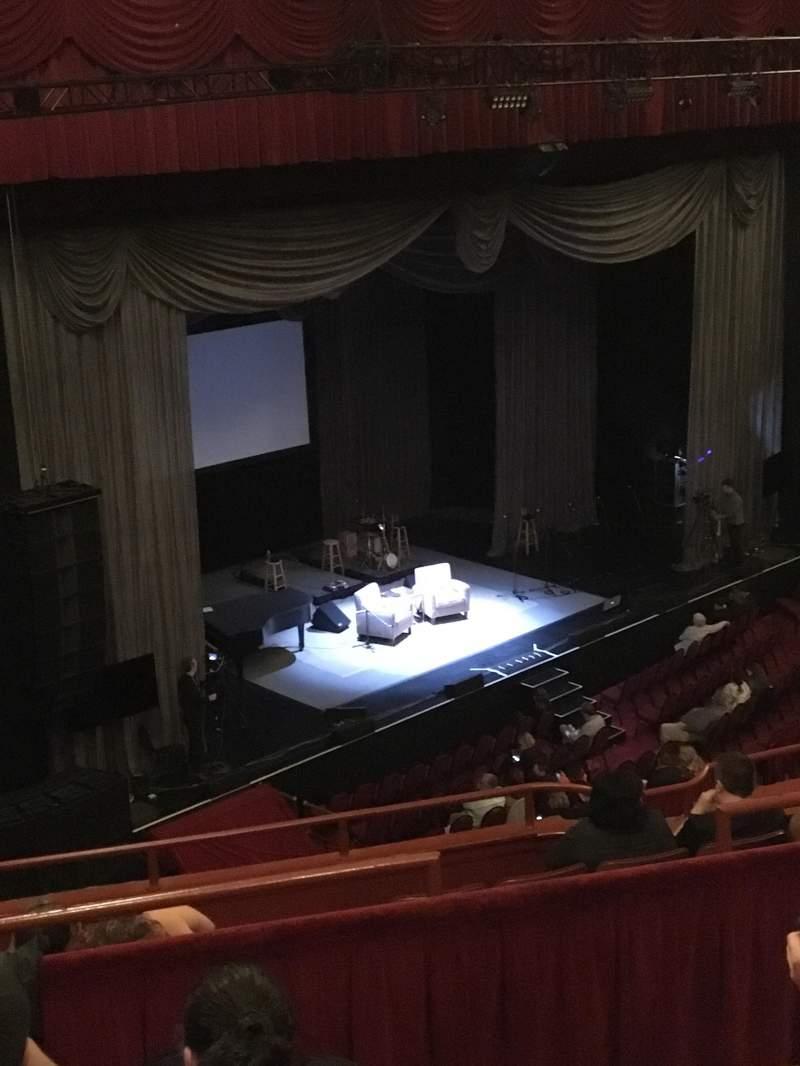 Vista sentada para Chicago Theatre Secção BALCONY1L Fila D Lugar 115