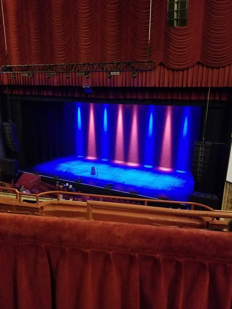 Vista sentada para Chicago Theatre Secção BALCONY2R Fila A