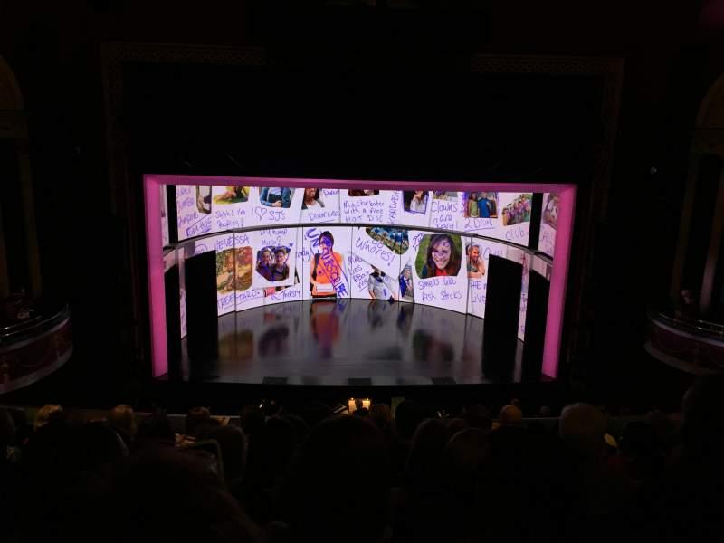 Vista sentada para National Theatre (DC) Secção Mezz Fila G Lugar 109