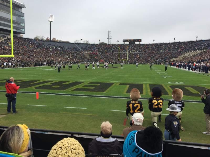Vista sentada para Ross-Ade Stadium Secção 33 Fila 5 Lugar 12