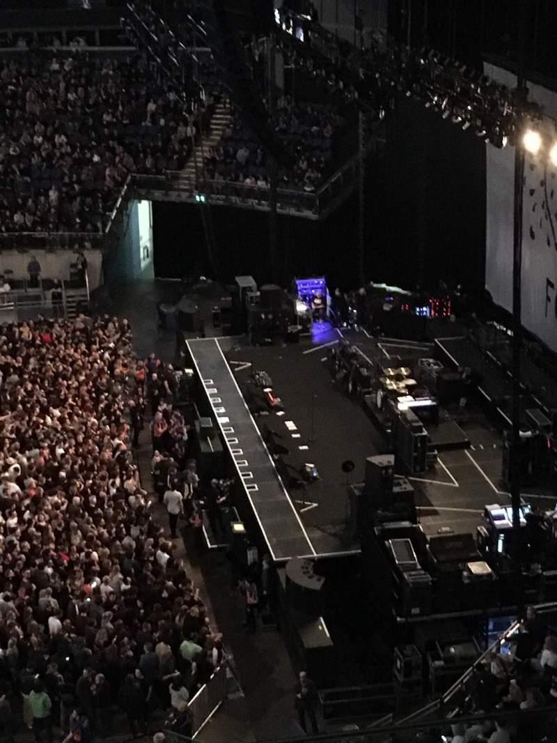 Vista sentada para The O2 Arena Secção 421 Fila C Lugar 961