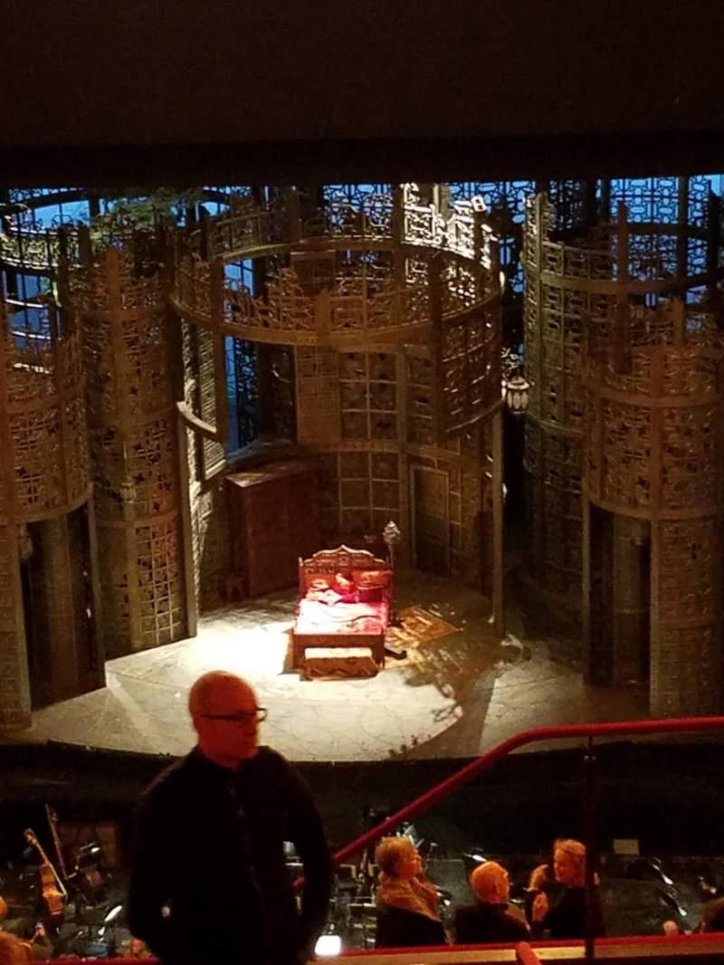 Vista sentada para Metropolitan Opera House - Lincoln Center