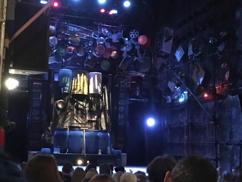 Vista sentada para Orpheum Theater (New York) Secção ORCH Fila M Lugar 7