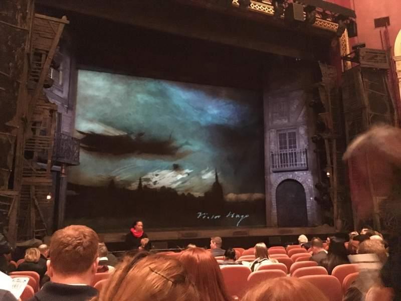Vista sentada para national theatre (dc) Secção Orchestra Left Fila L Lugar 3