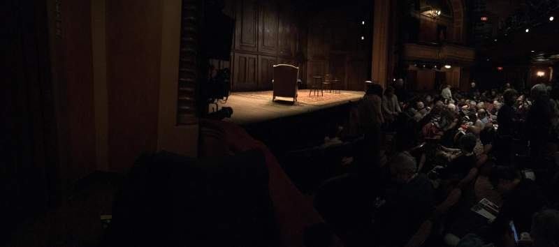 Vista sentada para American Airlines Theatre Secção Box AA Lugar 3