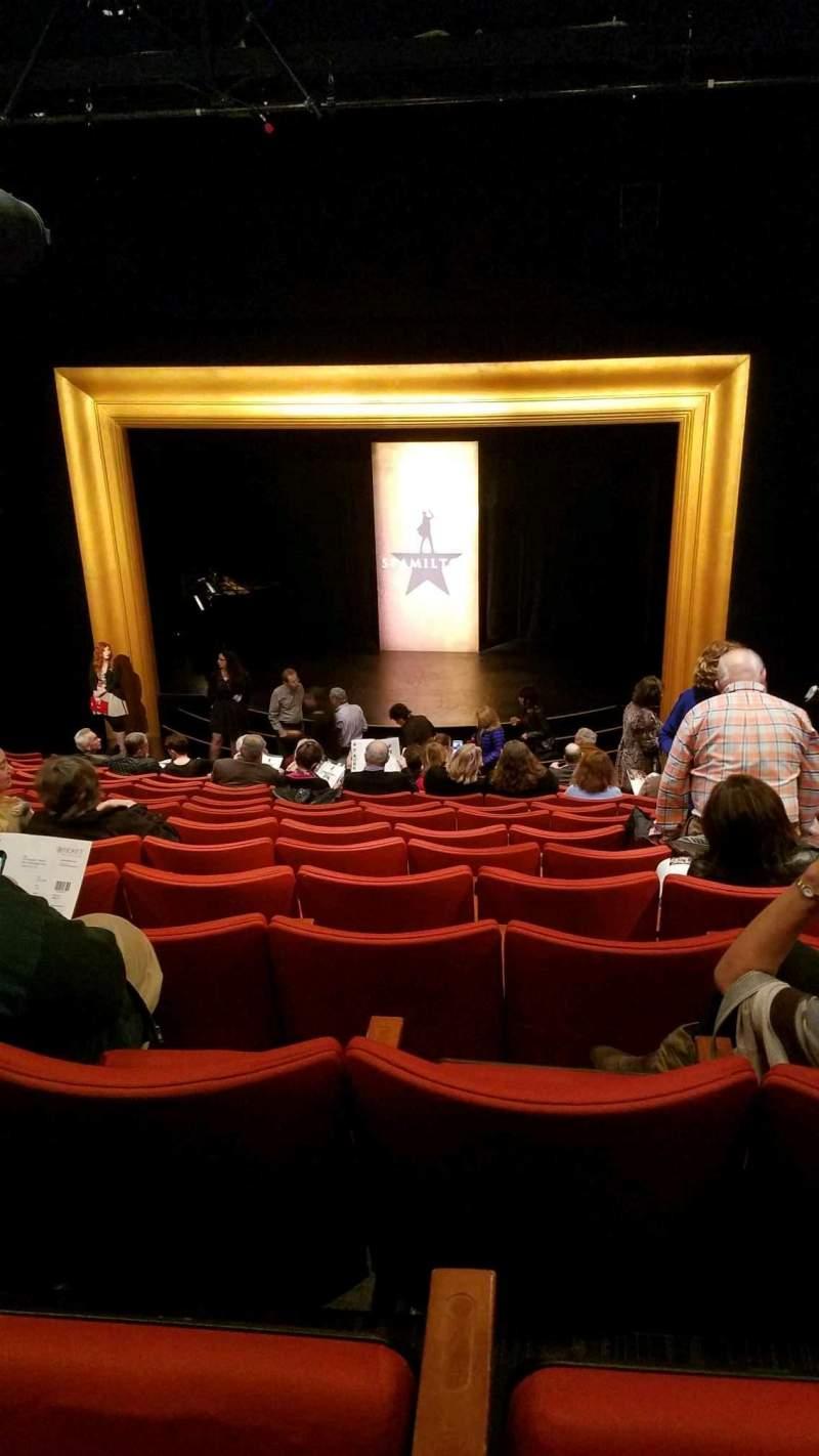 Vista sentada para Kirk Douglas Theatre Secção Main Fila Q Lugar 113