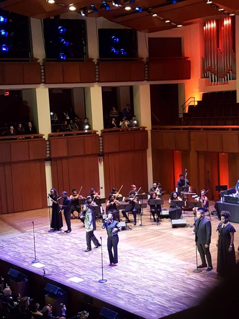 Vista sentada para The Kennedy Center Concert Hall Secção Box Fila 48 Lugar 4