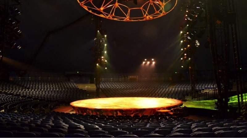 Vista sentada para Cirque Du Soleil - Totem Secção 206 Fila M Lugar 1