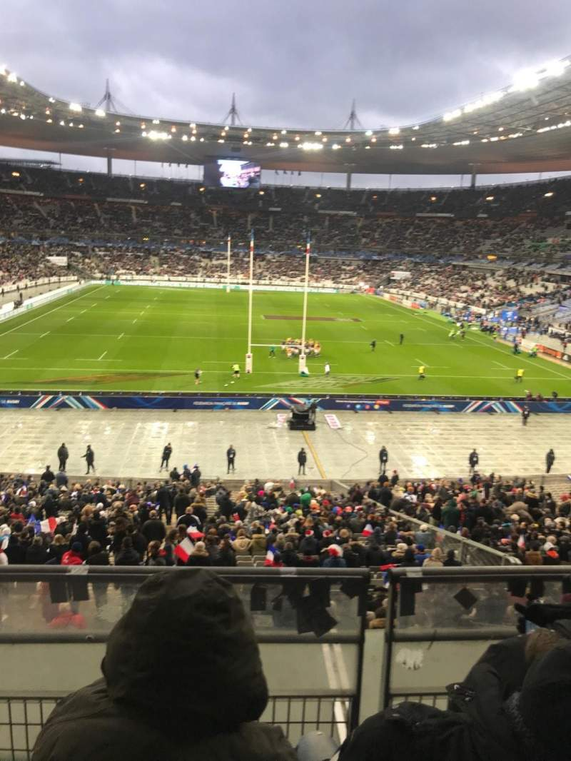 Vista sentada para Stade de France Secção L12 Fila 37 Lugar 25