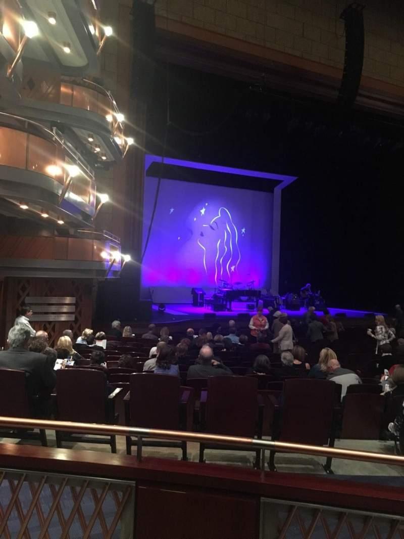 Vista sentada para Walt Disney Theatre - Dr. Phillips Center Secção ORC Fila R Lugar 21