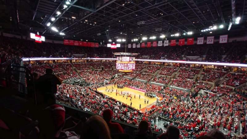 Vista sentada para Value City Arena Secção 319 Fila C Lugar 3