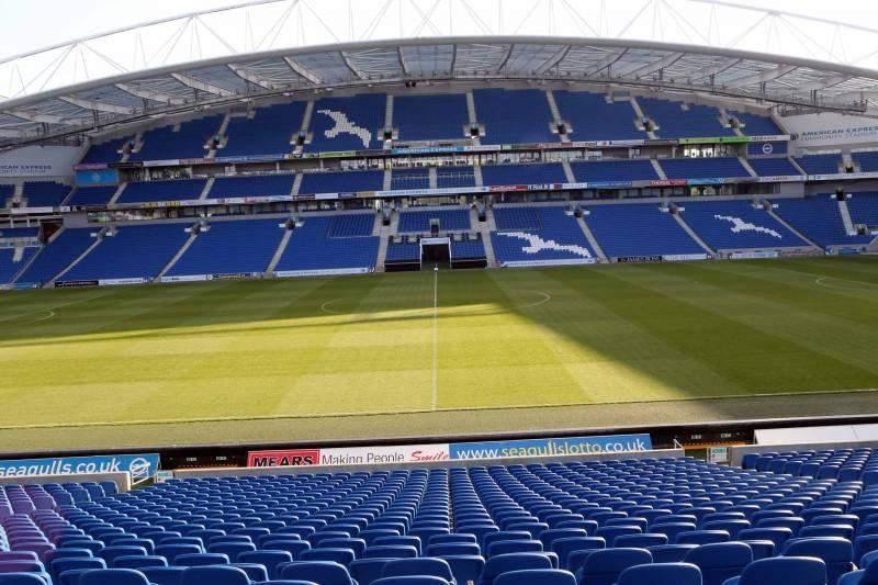 Vista sentada para American Express Community Stadium Secção E1DH