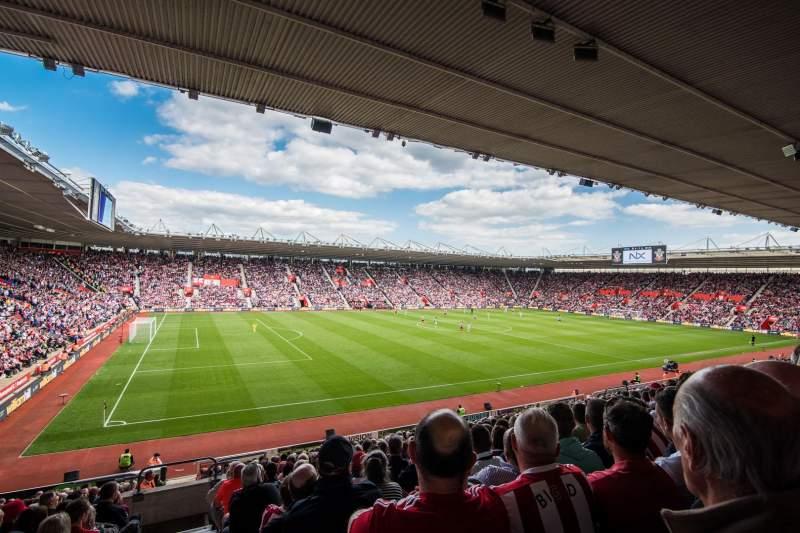 Vista sentada para St Mary's Stadium Secção 35