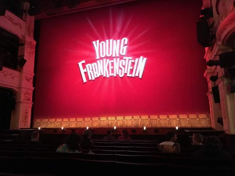 Vista sentada para Garrick Theatre Secção Stalls Fila H Lugar 6