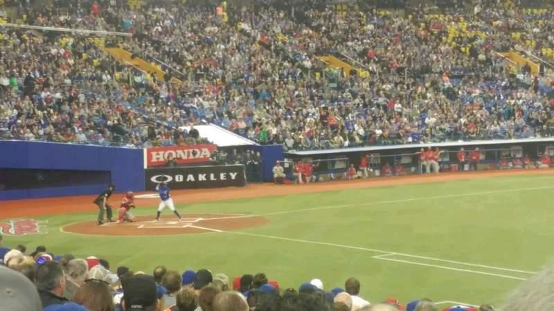 Vista sentada para Olympic Stadium, Montreal Secção 115 Fila TT Lugar 12