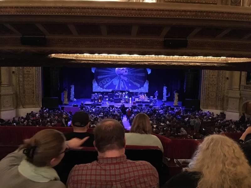 Vista sentada para Chicago Theatre Secção Booth N Lugar 1-2