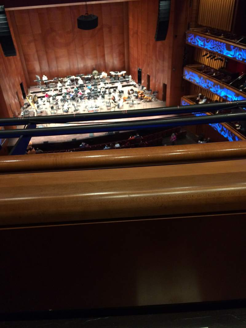 Vista sentada para Tobin Center for Performing Arts Secção Balcony Fila 1st Lugar Not the 2