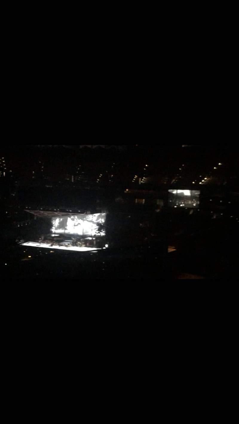 Vista sentada para TD Garden Secção Bal 305 Fila 1