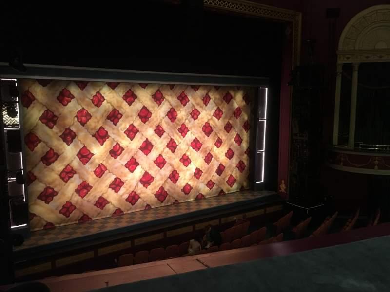 Vista sentada para National Theatre (DC) Secção Mezzanine Fila A Lugar 9