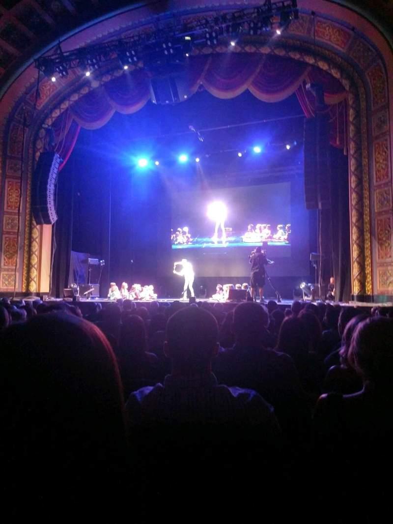 Vista sentada para Florida Theatre Secção 200 Fila n Lugar 3