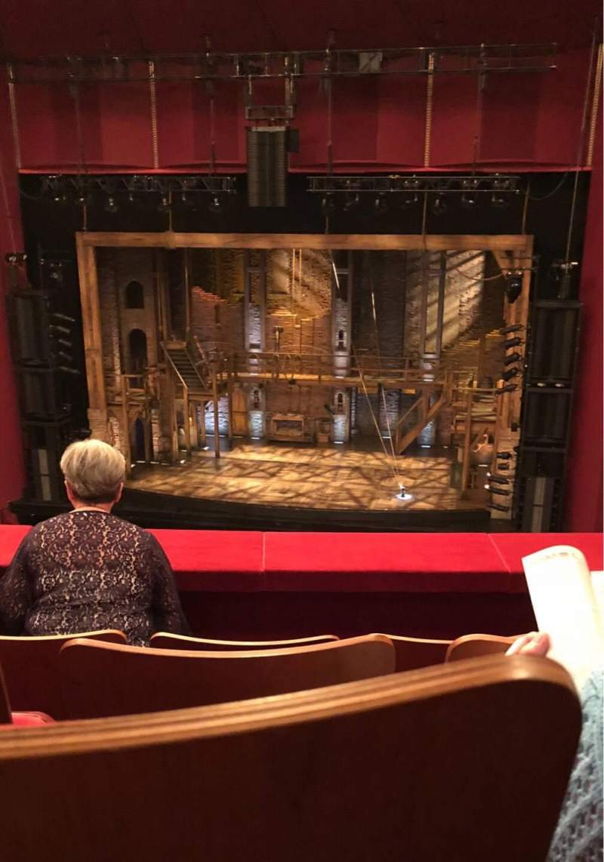 Vista sentada para The Kennedy Center Opera House Secção T1 Fila D Lugar 106