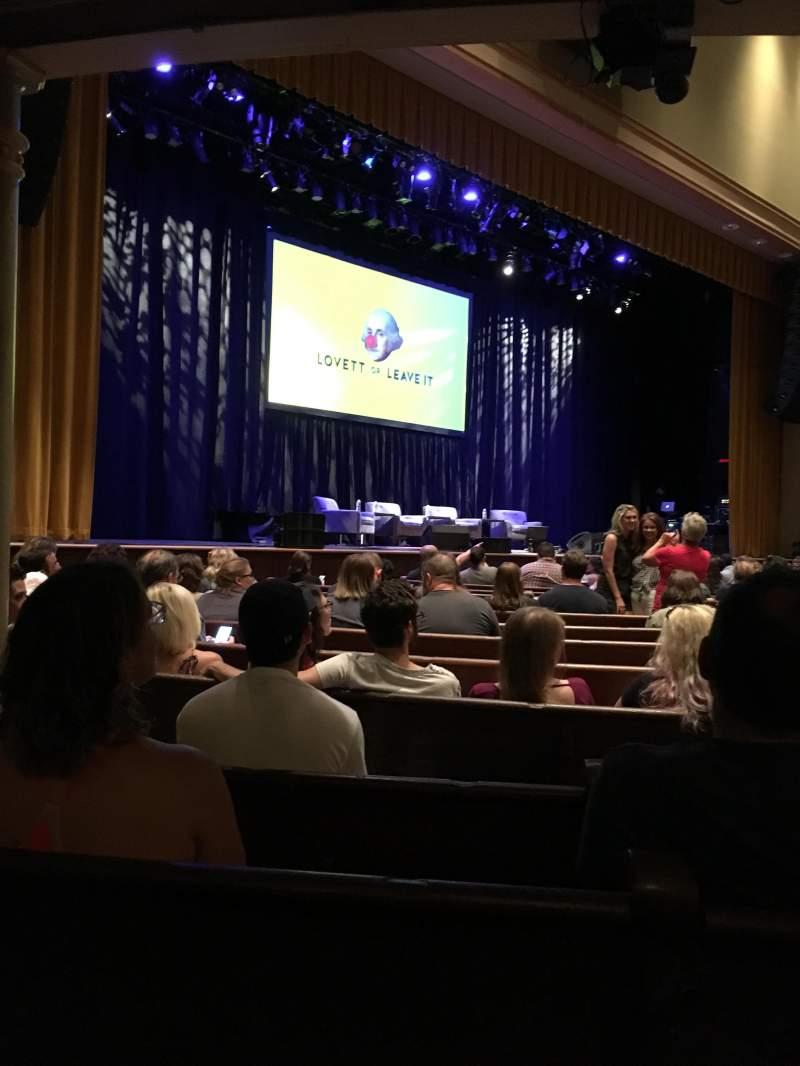 Vista sentada para Ryman Auditorium Secção MF-7 Fila P Lugar 6