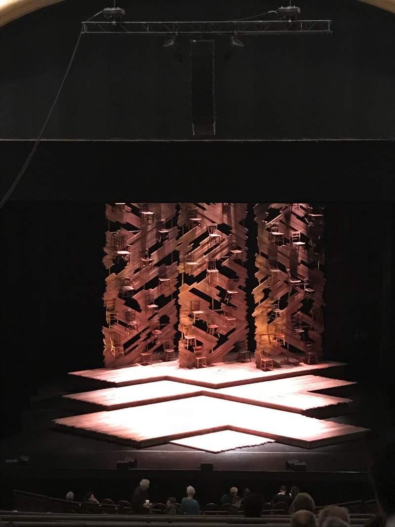 Vista sentada para Paramount Theatre (Seattle) Secção MEZ13 Fila H Lugar 8