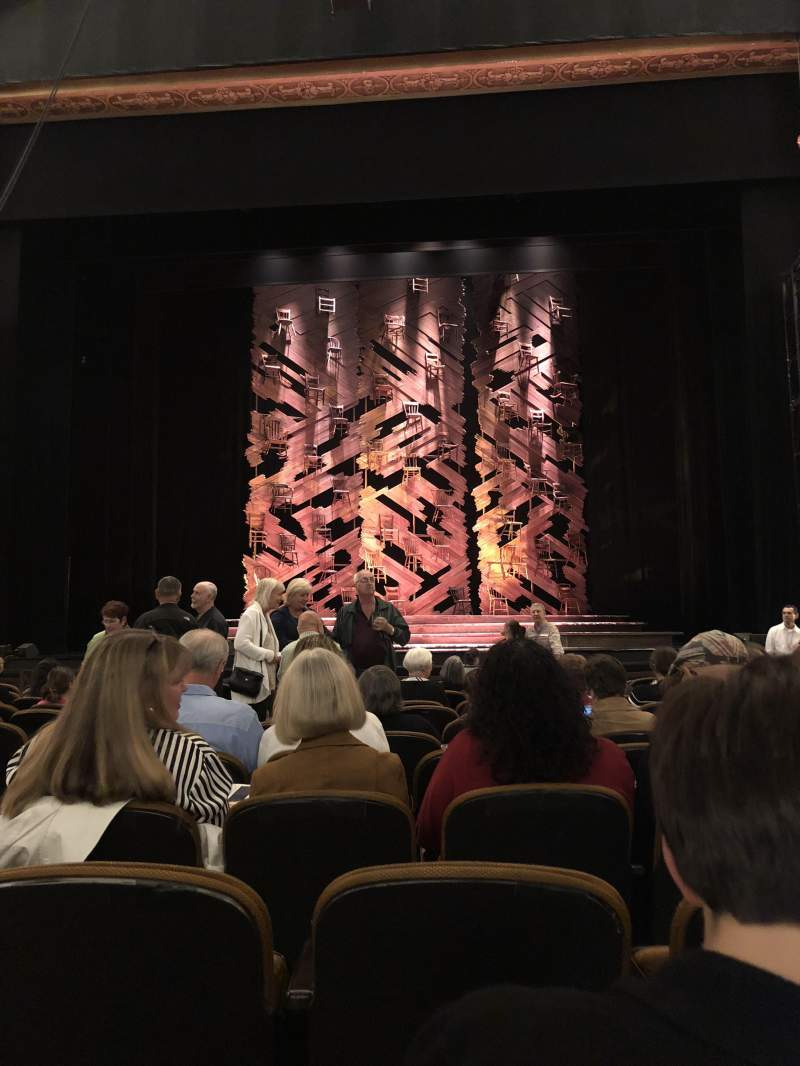 Vista sentada para Paramount Theatre (Seattle) Secção MF2 Fila M Lugar 3