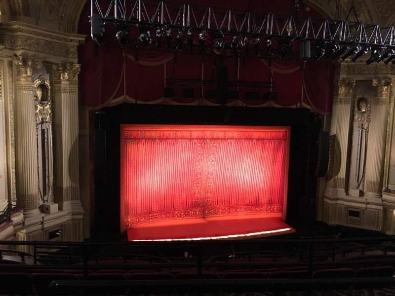 Vista sentada para Boston Opera House Secção MEZZLC Fila C Lugar 125