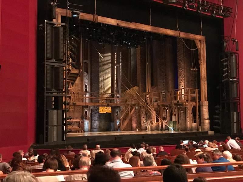 Vista sentada para The Kennedy Center Opera House Secção Orchestra Fila V Lugar 23