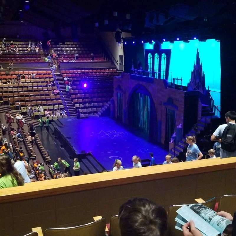 Vista sentada para Upper Darby Performing Arts Center Secção Right Side Balcony Fila P Lugar 124