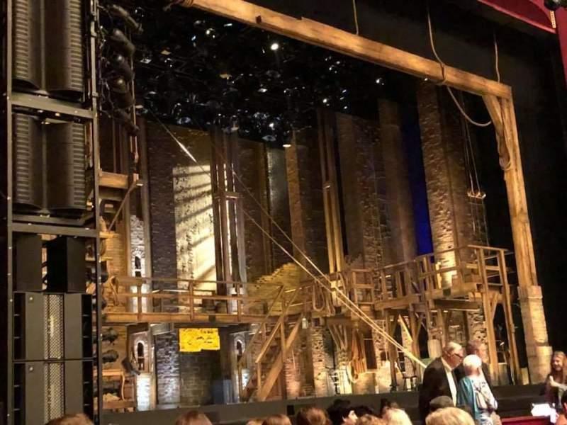 Vista sentada para The Kennedy Center Opera House Secção Orchestra Left Fila O Lugar 21