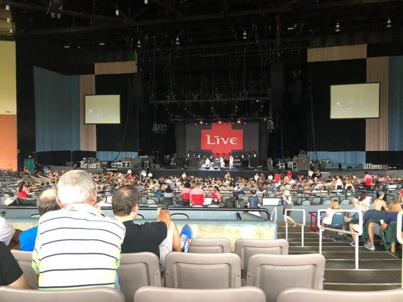 Vista sentada para Xfinity Theatre Secção 600 Fila NN Lugar 602