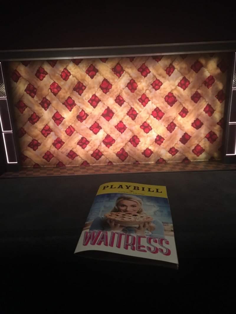 Vista sentada para National Theatre (DC) Secção Mezzanine center Fila A Lugar 7